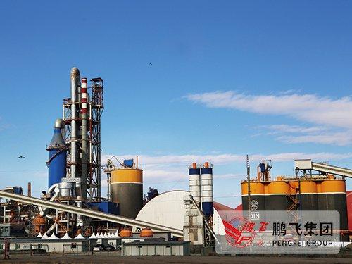 日产2500吨新型干法水泥熟料生产线